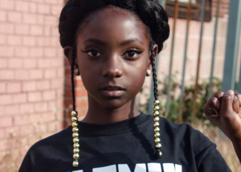 10 Year Old Bullied About Her Dark Skin Launches A T Shirt Line