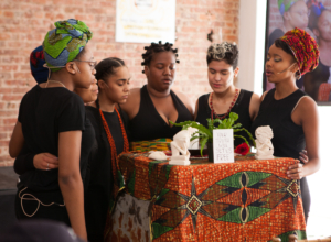 Performers from the Truthworker Theatre Company. (Photo credit: G4GC Convening